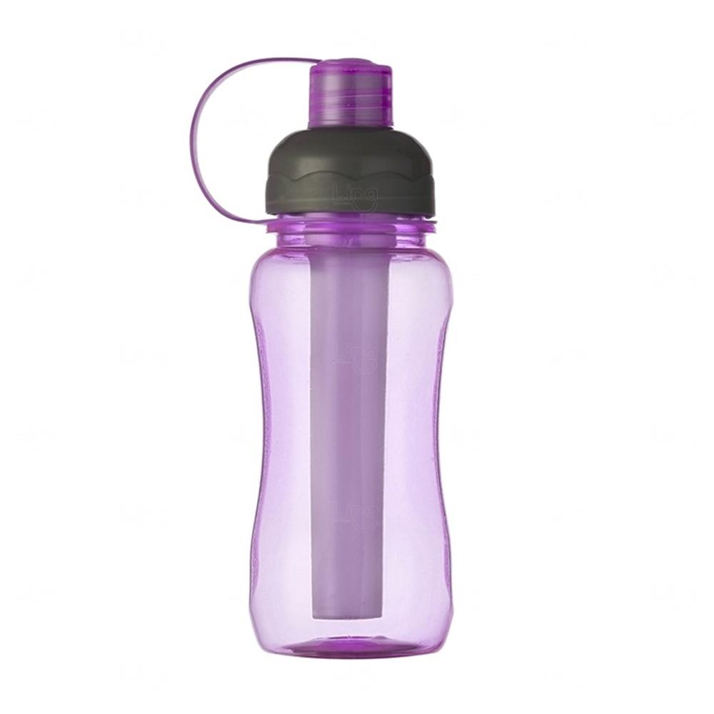 Squeeze Plástica IceBar Personalizada - 400 ml Roxo
