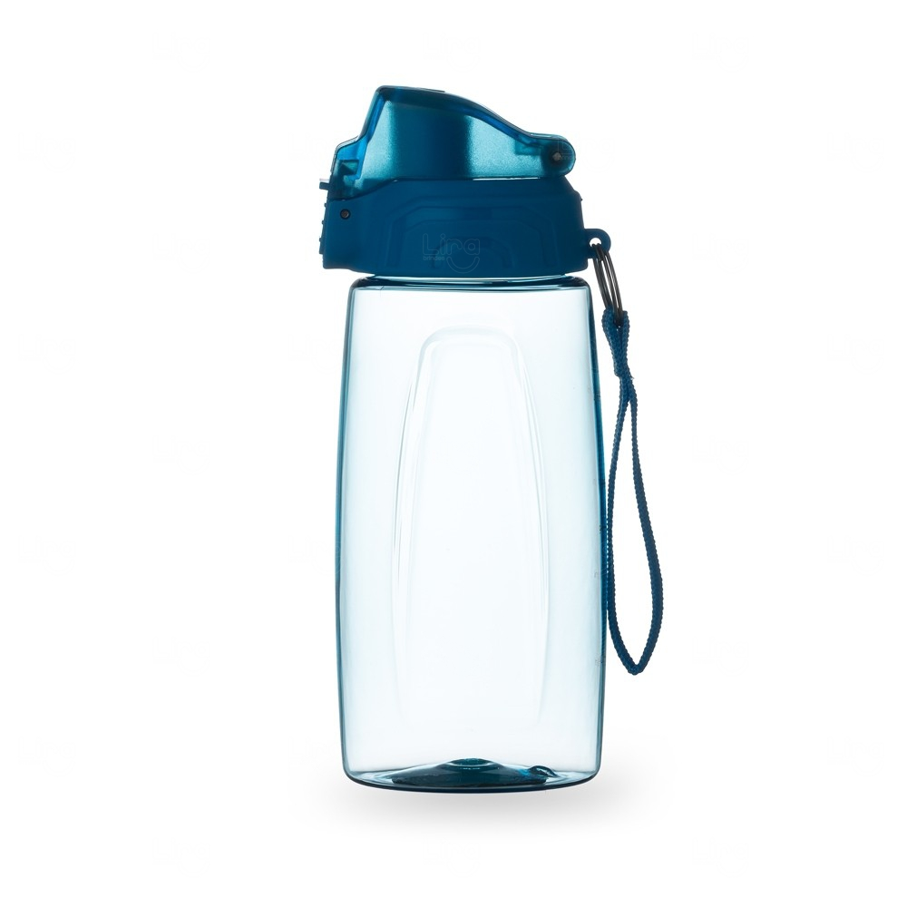 Squeeze Personalizado com Trava Na Tampa - 600 ml Azul