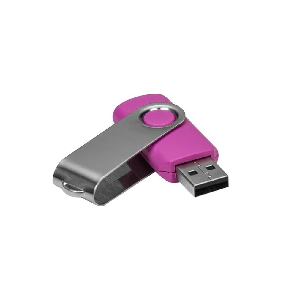 Pen Drive Com Tampa Giratória Personalizado - 4 GB