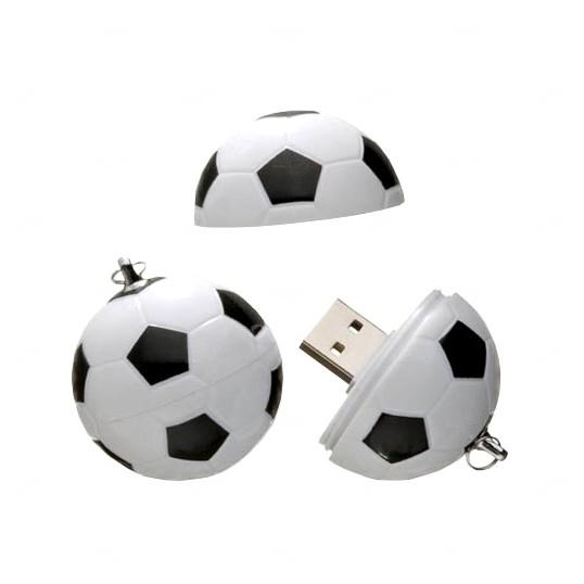 Pen Drive Bola De Futebol Personalizado - 4GB