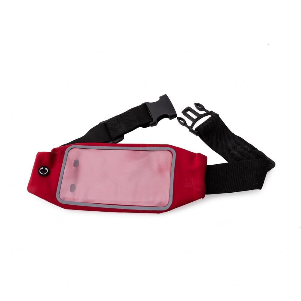 Pochete Esportiva Personalizada com Visor Vermelho
