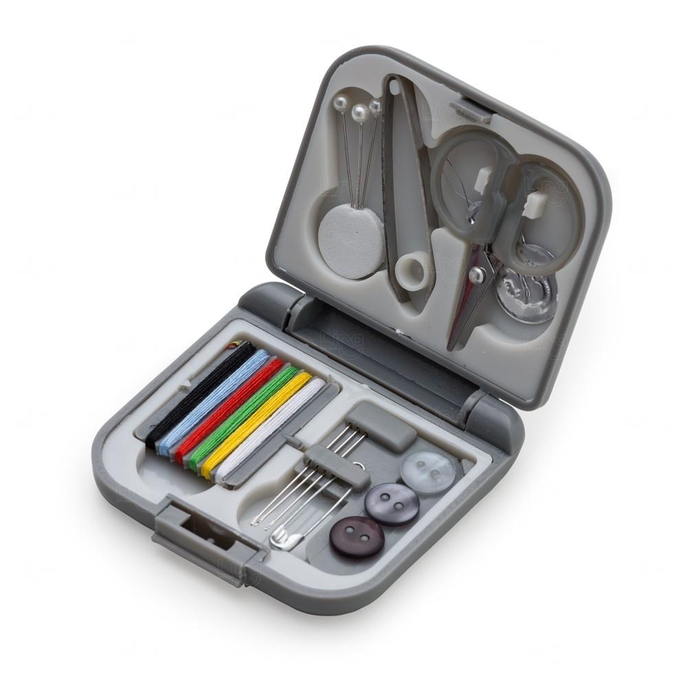 Kit de Costura Fácil Personalizado Cinza