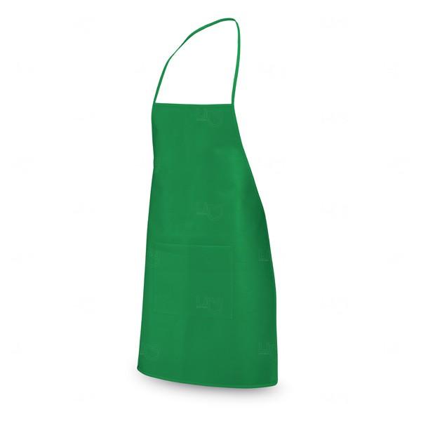 Avental Personalizado com Bolso Verde