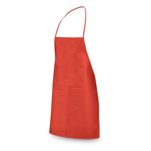 Avental Personalizado com Bolso Vermelho