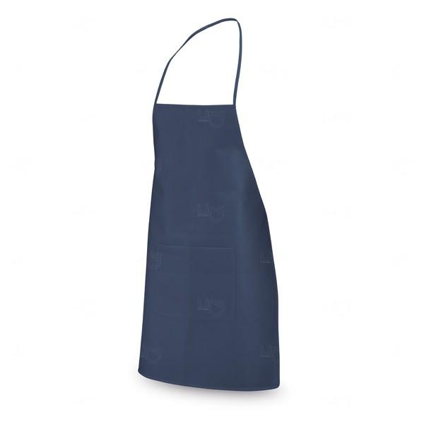 Avental Personalizado com Bolso Azul Marinho