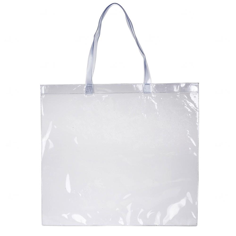 Sacola Personalizada PVC Transparente Transparente