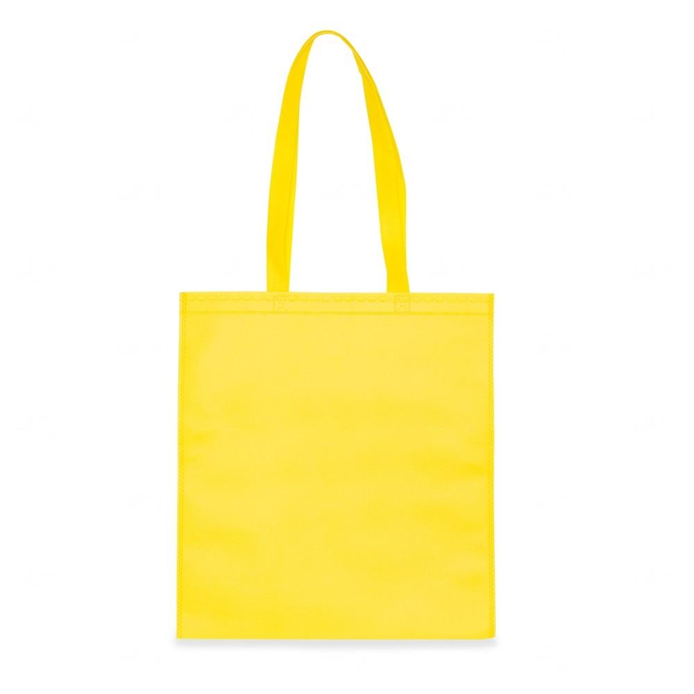 Sacola Personalizada Em TNT Amarelo