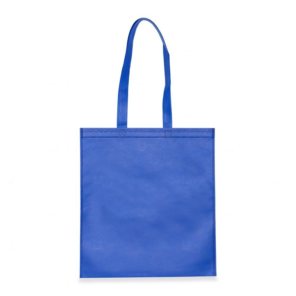 Sacola Personalizada Em TNT Azul