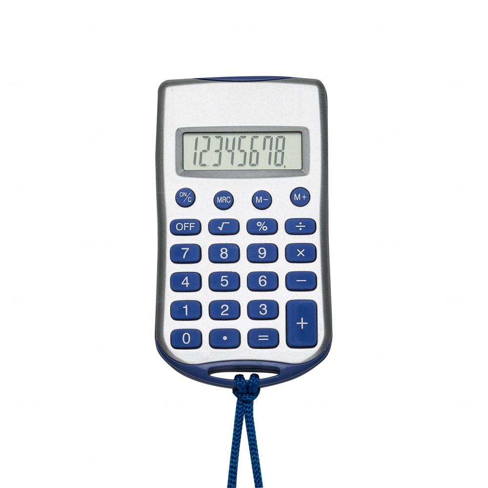 Calculadora Retangular Personalizada com Cordão Azul