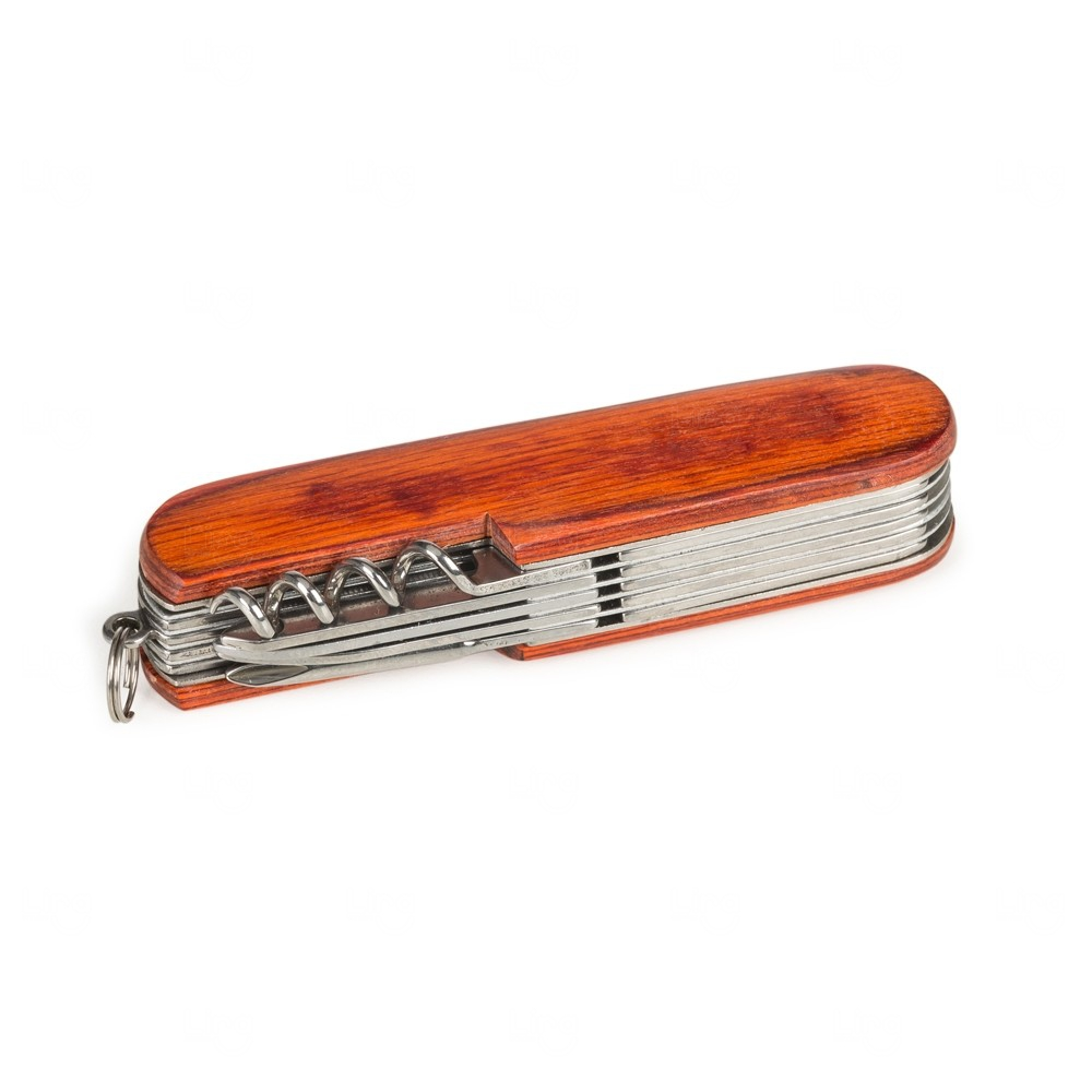Canivete De Madeira Personalizado