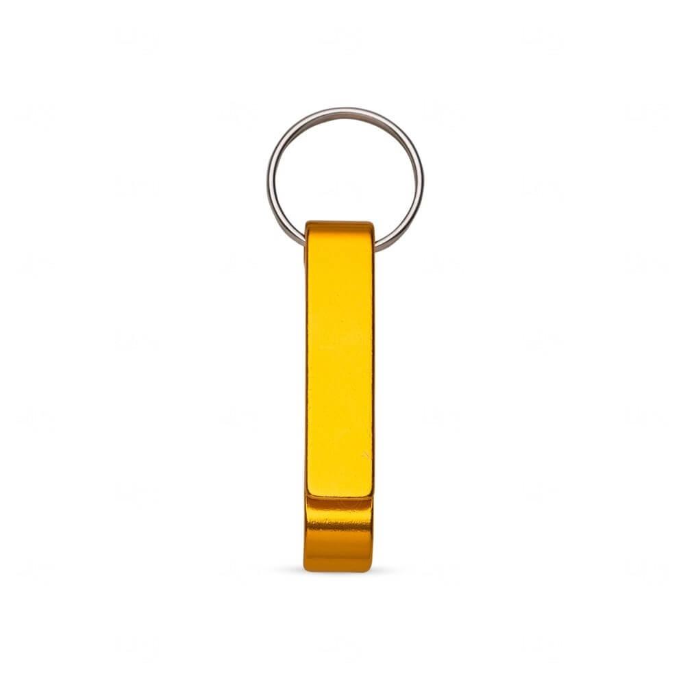 Chaveiro Abridor Personalizado Dourado