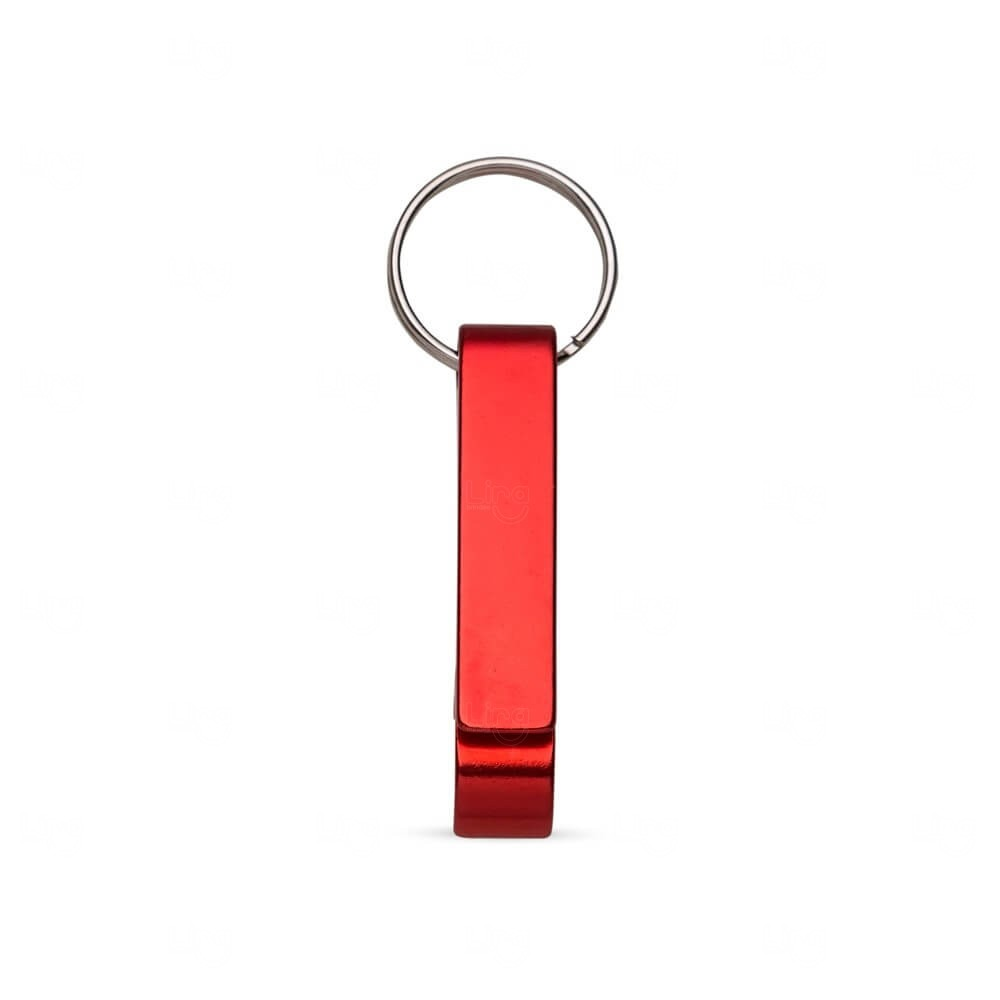 Chaveiro Abridor Personalizado Vermelho