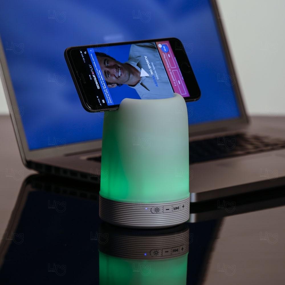 Luminária Caixa De Som Personalizada