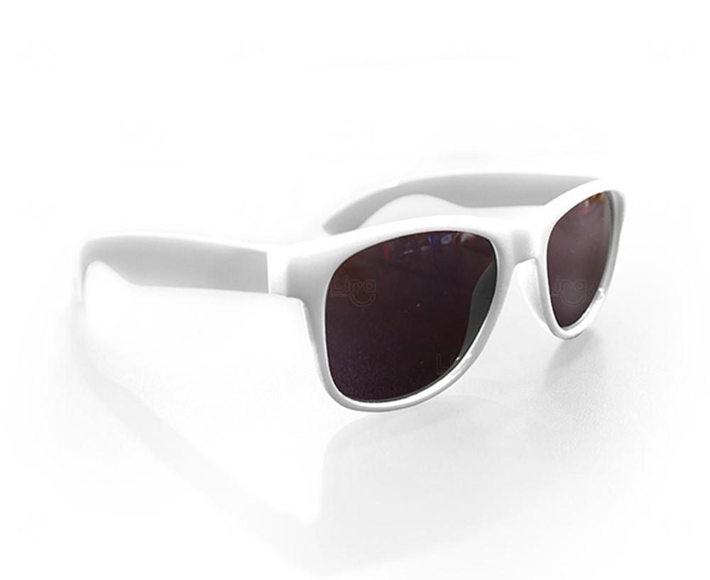 Óculos Reticulado Yoga Personalizado Branco