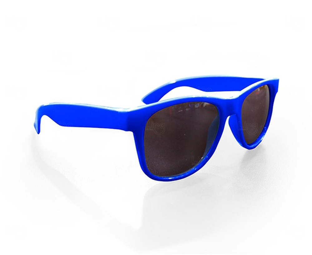 Óculos Reticulado Yoga Personalizado Azul