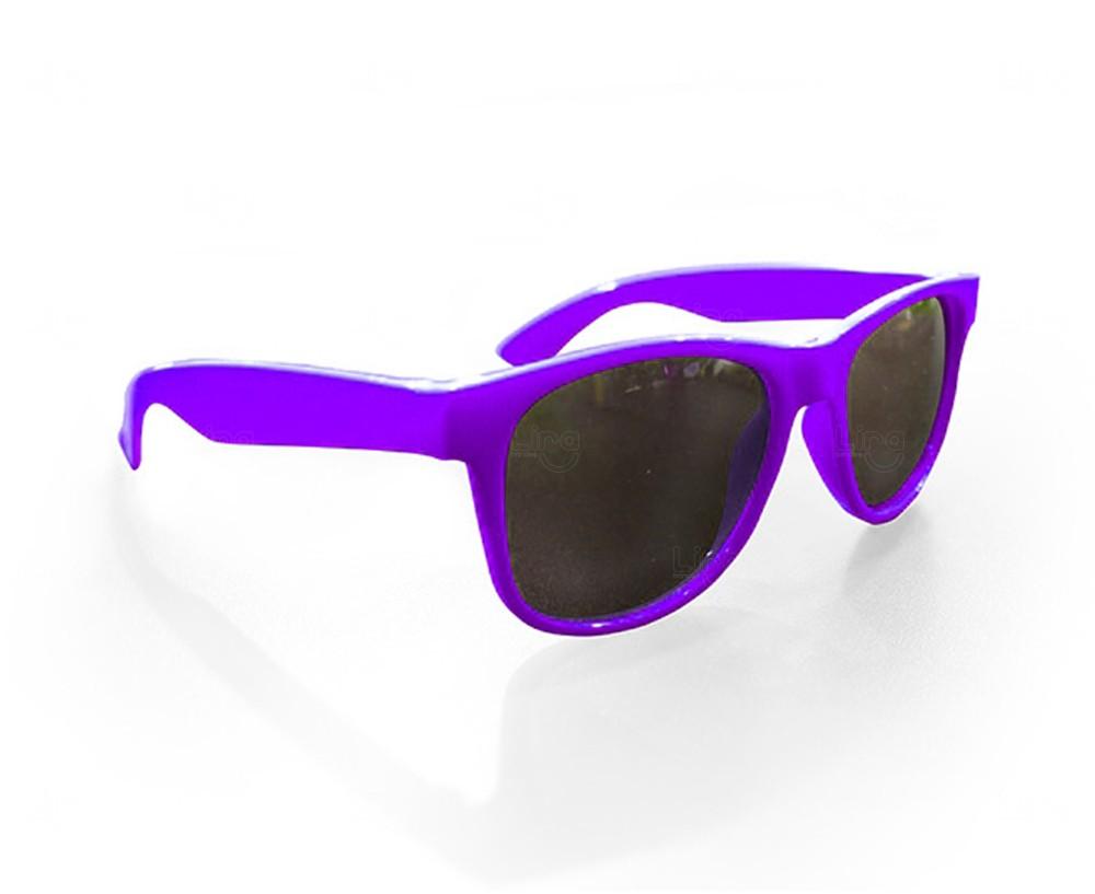 Óculos Reticulado Yoga Personalizado Roxo