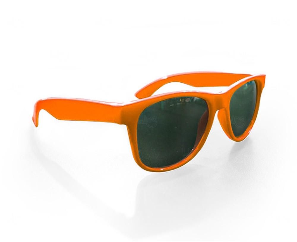 Óculos Reticulado Yoga Personalizado Laranja