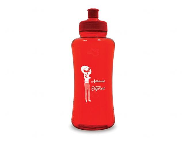 Squeeze Personalizado Pet - 550 ml Vermelho