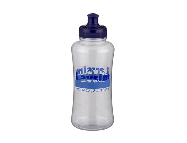 Squeeze Personalizado Pet - 550 ml Fume