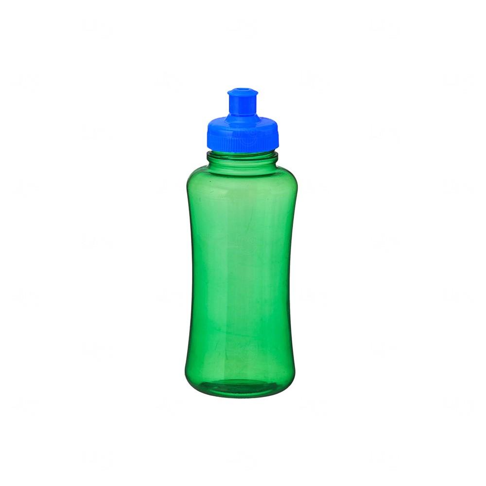 Squeeze Pet Personalizada - 550 ml AZUL VERDE