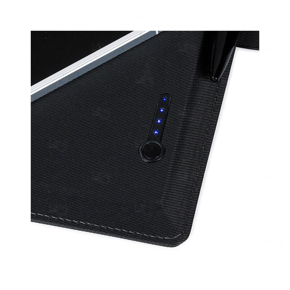 Caderno Power Bank Personalizado - 4000 mAh