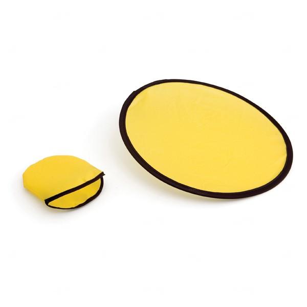 Frisbee Dobrável Personalizado Amarelo