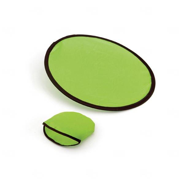 Frisbee Dobrável Personalizado Verde
