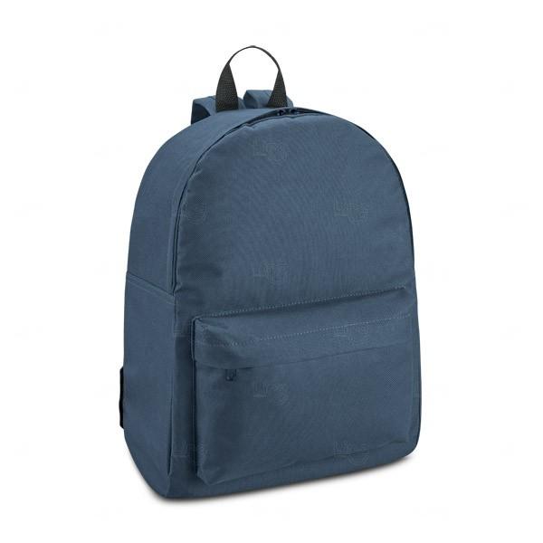 Mochila Personalizada Em Nylon Azul Marinho