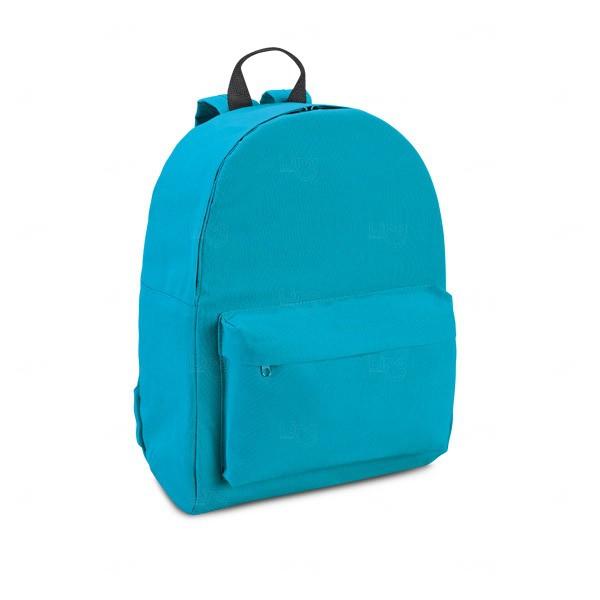 Mochila Personalizada Em Nylon Azul Claro