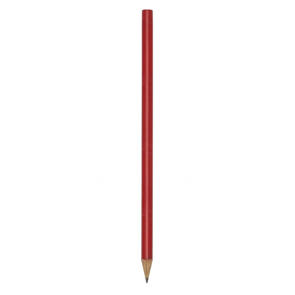Lápis Ecológico Personalizado Vermelho