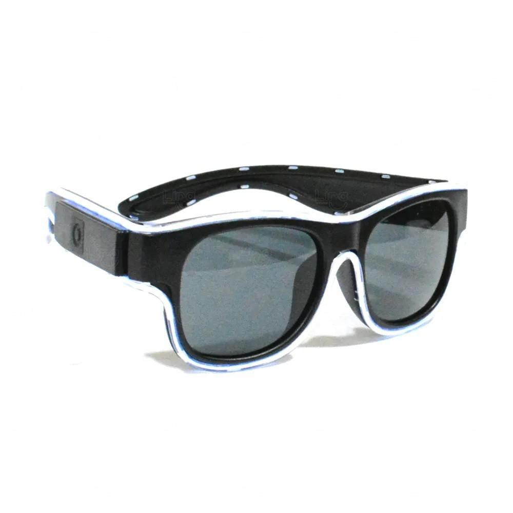 Óculos Personalizado Luminoso Neon Branco