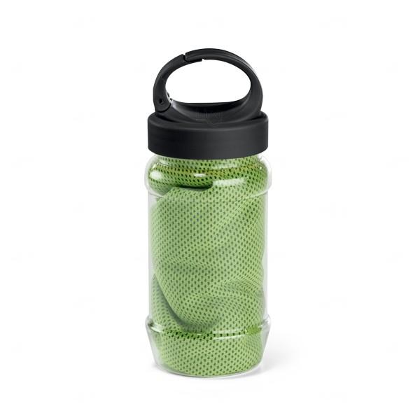Squeeze com Toalha Personalizada - 440ml Verde Claro