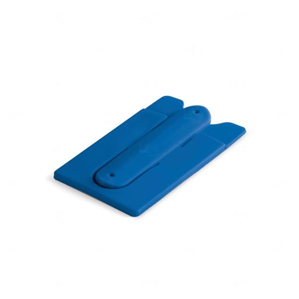 Porta Cartão Suporte Flexível Personalizado Azul