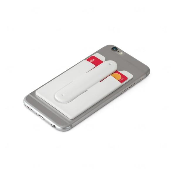 Porta Cartão Suporte Flexível Personalizado Branco