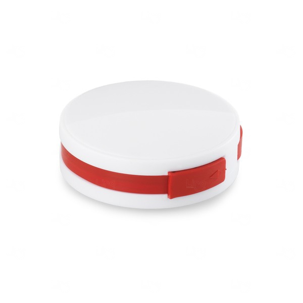 Hub USB 2.0  Personalizado Vermelho