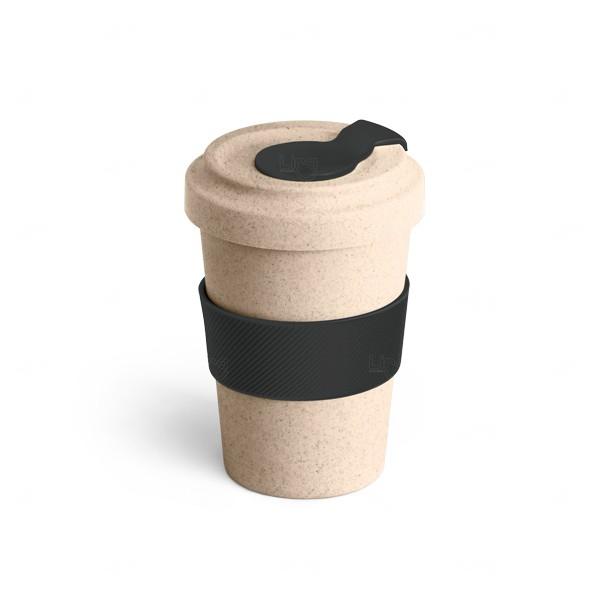 Copo Personalizado de Fibra Bambu - 500 ml Preto