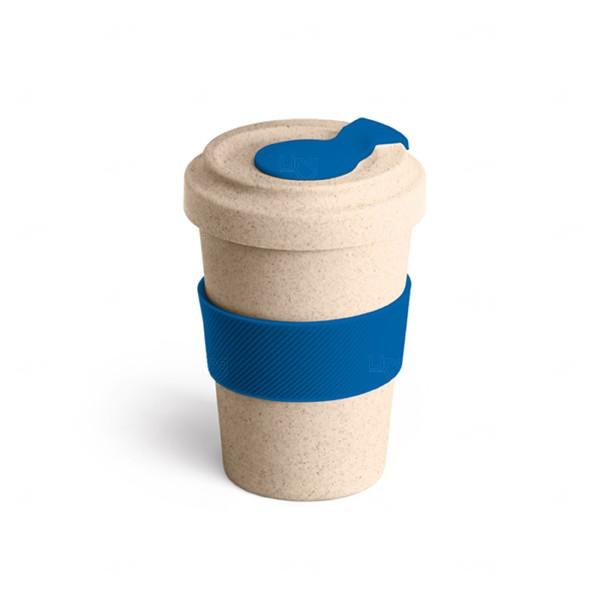 Copo Personalizado de Fibra Bambu - 500 ml Azul