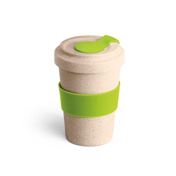 Copo Personalizado de Fibra Bambu - 500 ml Verde