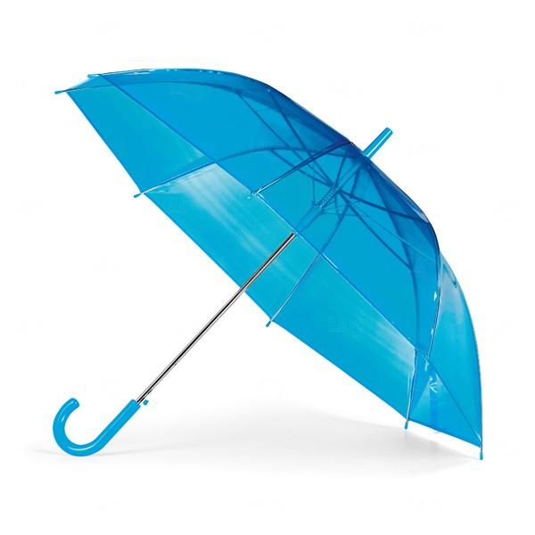 Guarda Chuva Transparente Personalizado Azul