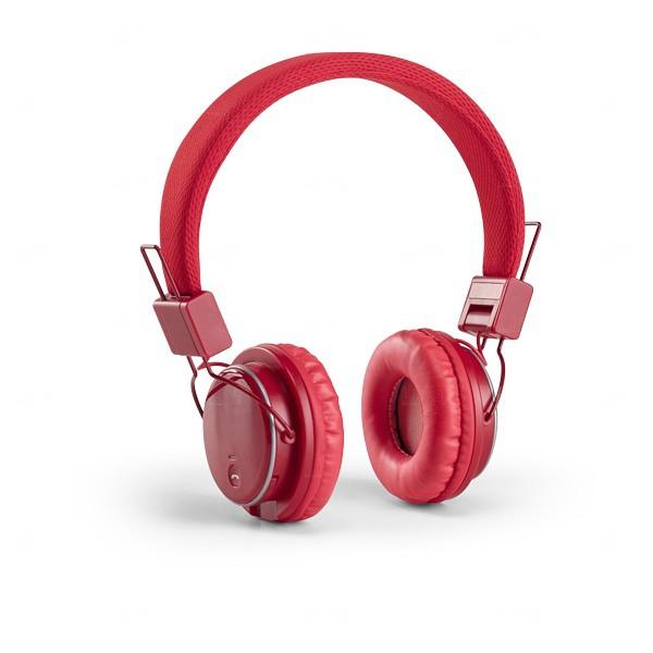 Fone De Ouvido Personalizado - Bluetooth Vermelho