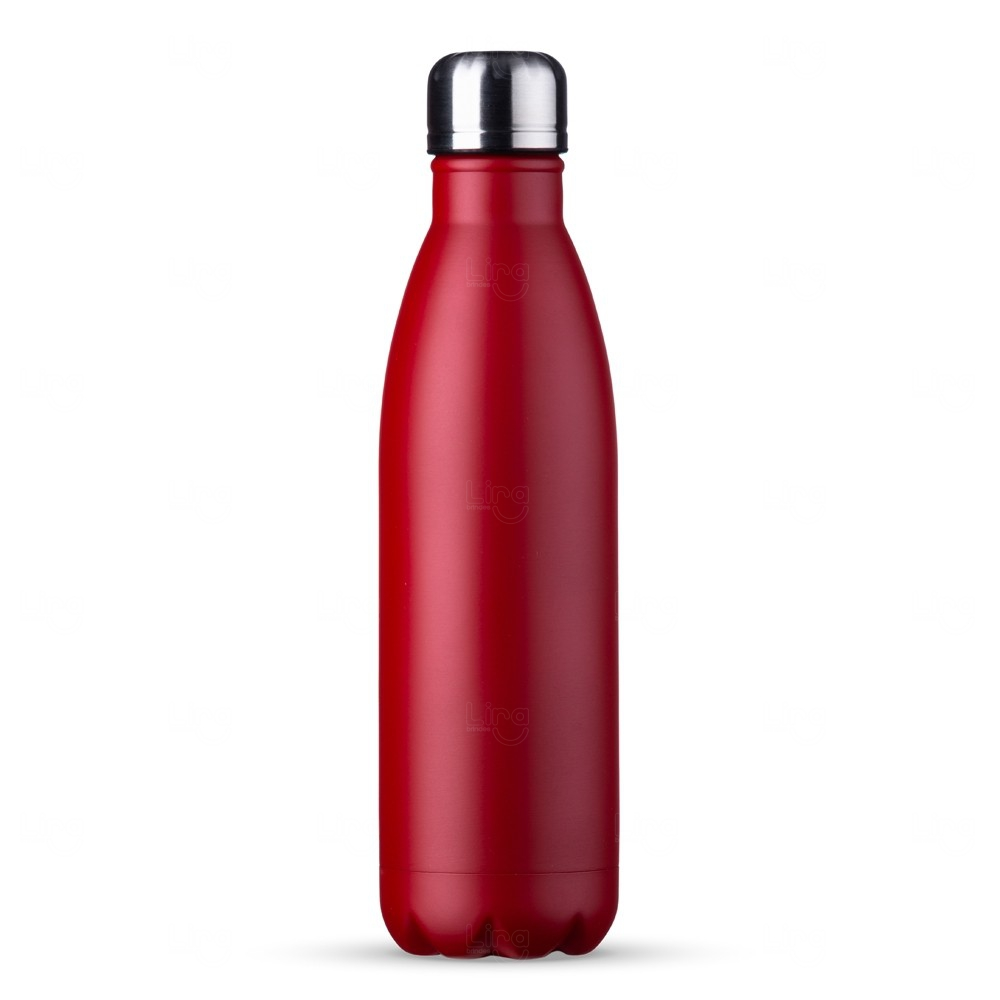 Garrafa Inox Personalizada - 750 ml Vermelho