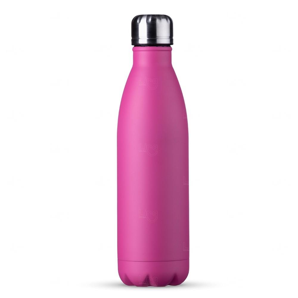 Garrafa Inox Personalizada - 750 ml Rosa