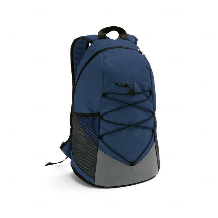 Mochila Personalizada Para Brindes Corporativos Azul