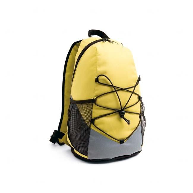 Mochila Para Brindes Corporativos Personalizada Amarelo