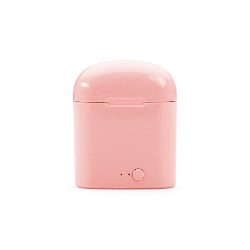Fone de Ouvido Bluetooth Personalizado Breeze Rosa