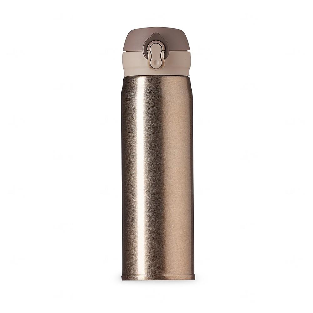Mini Garrafa Térmica Personalizada - 400 ml Dourado