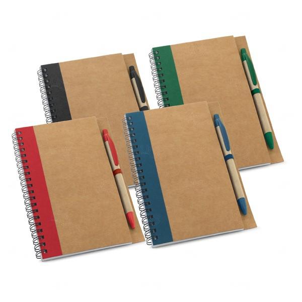 Caderno Ecológico Com Caneta Personalizado