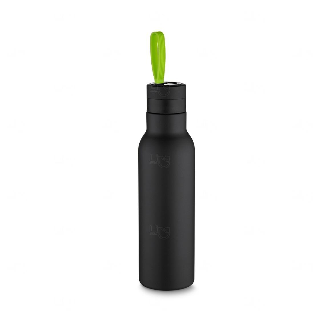 Garrafa Térmica Inox - 500 Ml Verde