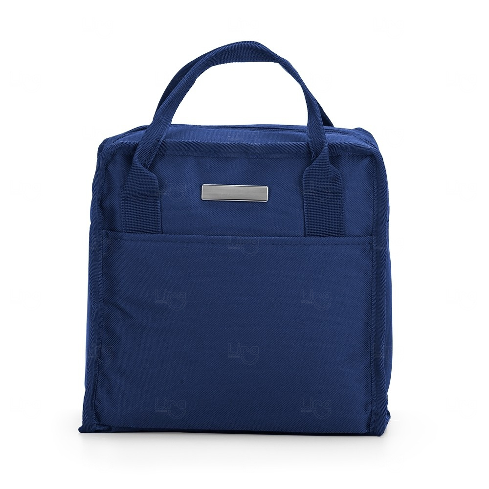 Bolsa Térmica Em Nylon Personalizada 7 Litros Azul