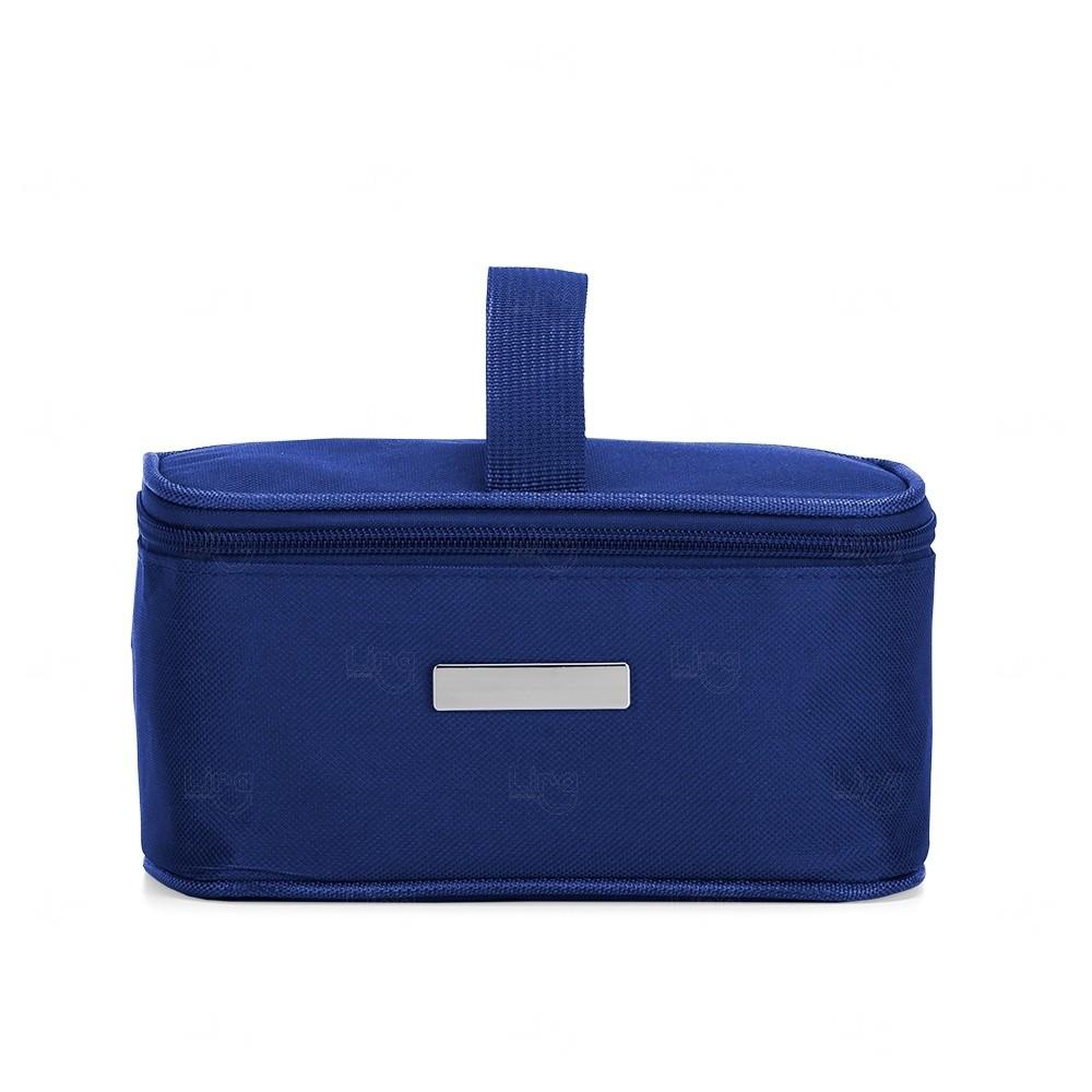Necessaire Térmica Em Nylon Personalizada - 2,6 Litros Azul